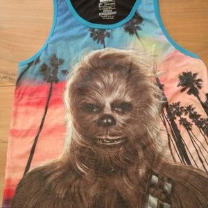 Other - Size large Chewbacca muscle shirt